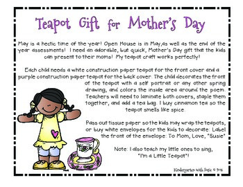 Mother's Day Teapot