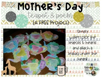 Mother's Day Teapot & Poem