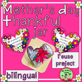 Mothers Day Thankful Jar Reuse Project Dia Madres Tarro Gr