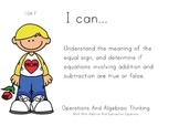 Mothers Day Theme 1st grade math Common Core Posters first Grade Standards