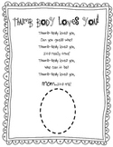 Mother's Day Thumb Body Loves You Poem