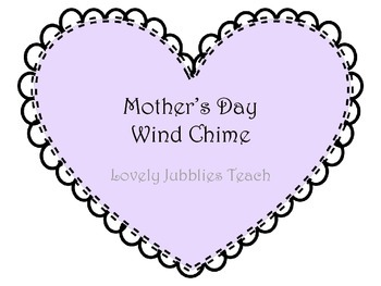 Mother's Day Wind Chime