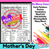 Mother's Day Word Search Activity
