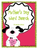 Mother's Day Word Search Fun!