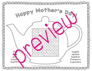 Mother's Day Word Search Games