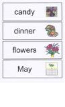 Mother's Day Word Walls