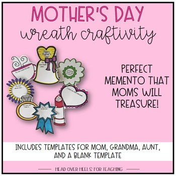 Mother's Day Wreath Craftivity