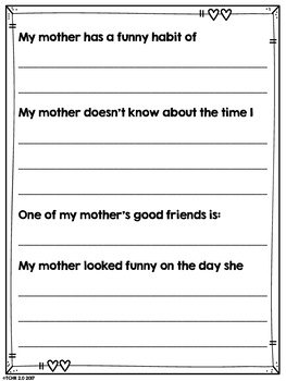 Mother's Day Father's Day Survey
