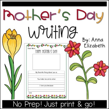 Mothers Day Writing