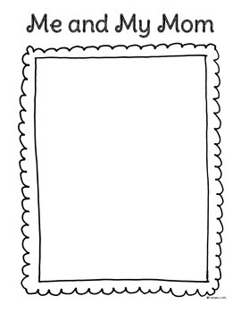 mother 39 s day writing activities for kindergarten 1st and 2nd grade. Black Bedroom Furniture Sets. Home Design Ideas