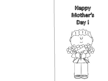 Mother's Day Writing Card
