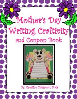 Mother's Day! Writing Craftivity and Coupon Book
