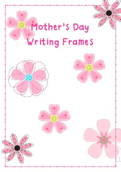 Mother's Day Writing Frames