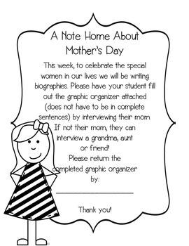 Day Writing Mini-Unit {for Grandmoms, Aunts and Friends, too!)