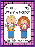 Mother's Day Writing Paper