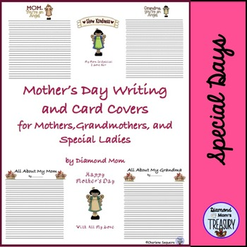 Mother's Day Writing and Card Covers