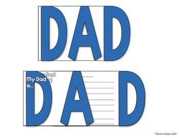 Mother's Day and Father's Day Flip Flap Cards