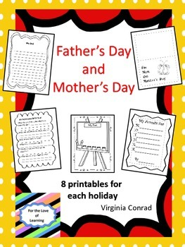 Mother's Day and Father's Day Printables