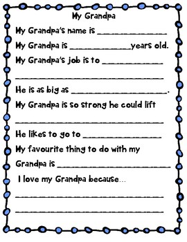 Mothers Day and Fathers Day Questionnaire
