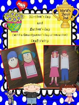 Mother's Day and Father's Day with a Grandparent's Day Alt