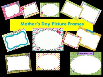Mother's Day and Spring Picture Frames - Personal & Commer