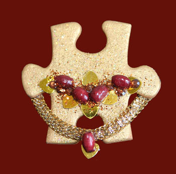 Mother's Day craft: Brooch