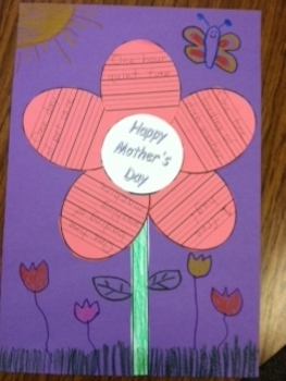 Mother's Day flower