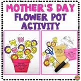 Mother's Day Flower Pot Craft and Activity