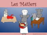 Occupations in French by Pepper with Mother's Day and Father's Day Cards