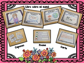 Mother's Day Activity Book in Spanish