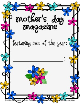 Mother's Day magazine- Mother of the Year