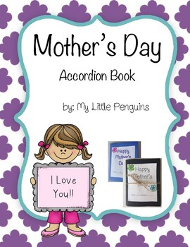 Mother's Day mini Accordion Book