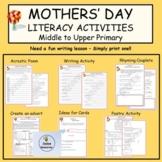 Mothers'DayWritingActivities