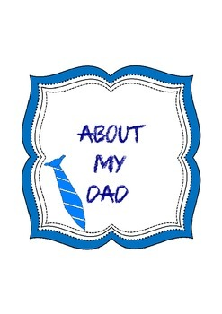 Mother's and Father's Day Writing Activity
