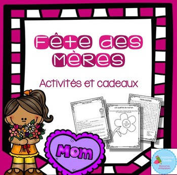 FRENCH Mother's day / Fête des mères Activity in french (français)