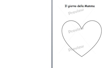Mother's Day card in Italian