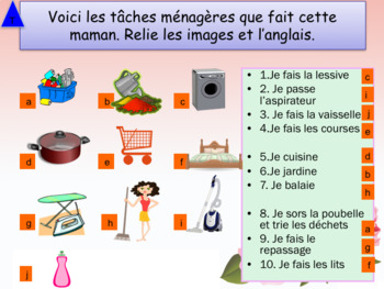 Mother's day in French interactive activities and games for beginners
