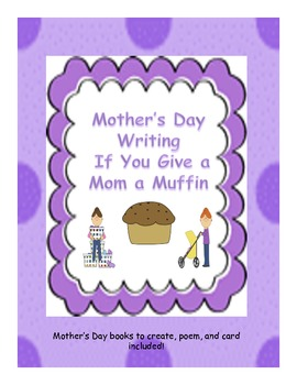 Mothers day writing and crafts packet