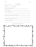 Mothers, fathers, and grandparent question sheet