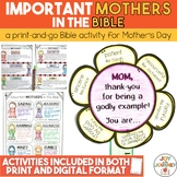 Mothers in the Bible Mother's Day Activity