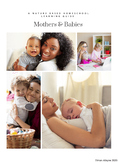 Nature PlaySchool Mothers's Day Keepsakes and Activity Guide