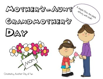 Mother's/Aunt's/Grandma's Activity and Craft