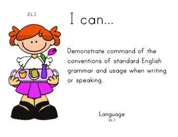 MothersDay 2nd grade English Common core standards posters