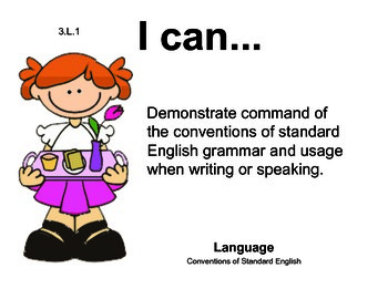 MothersDay 3rd grade English Common core standards posters