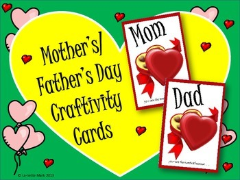 Mother's/Father's Day Card/Candy Box Craftivity