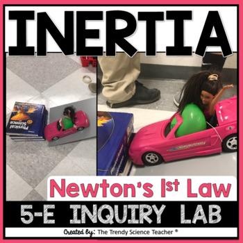 newton s first law inertia lab activity 5 e model tpt