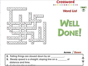 Motion: Crossword - MAC Gr. 5-8