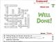 Motion: Crossword - NOTEBOOK Gr. 5-8
