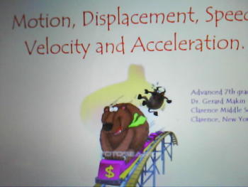 Motion, Displacement, Speed, Velocity and Acceleration