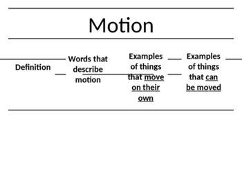 Motion Foldable